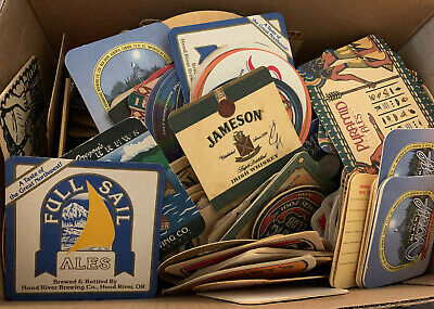 Vintage Beer/Ale/Whiskey Coasters Lot of 236 In Excellent Used Condition