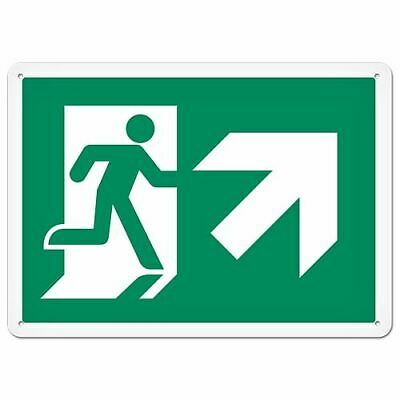 Fire Signs - Running Man Sign | Exit Up Right