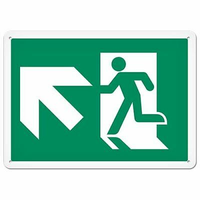 Fire Signs - Running Man Sign | Exit Up Left