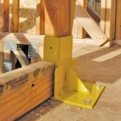 """Stair Mount for use with Guardrail Posts (6"""" x 6"""" x 6"""") 