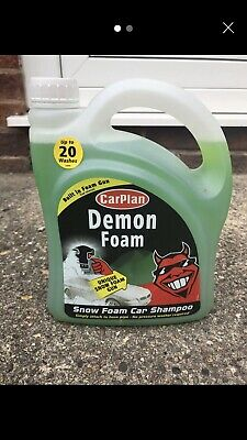 CarPlan Demon CDW200 Snow Foam Car Shampoo with Built in Gun 2 Litre