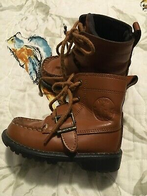 Ralph Lauren Polo Toddler Boys Boot Size 6