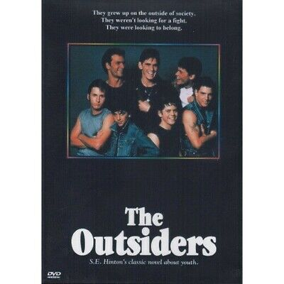 The Outsiders Tom Cruise (All Region Dvd)
