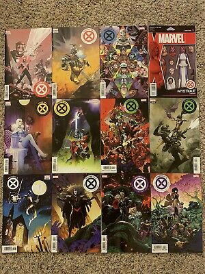 House of X & Powers of X #1-6, Full 12 Issue Set, 1st Printing, Mint/Near Mint