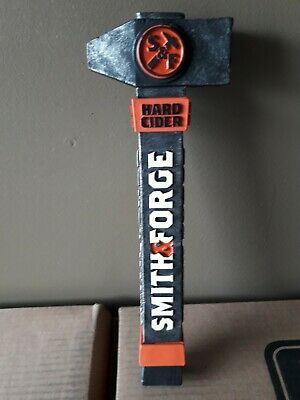 New Beer Tap Handle: Smith Forge Hard Cider **Nib**Nice Gift