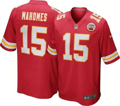 Patrick Mahomes Kansas City Chiefs Stitched Red Home Jersey Nike L Brand New!