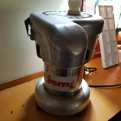 Jemi Industrial Juicer needs one clamp repaired good for parts/repair motor good