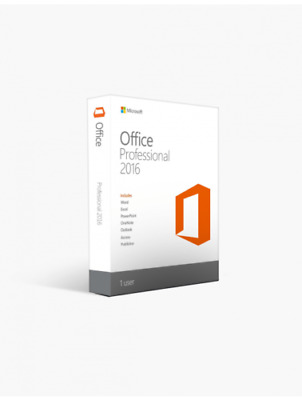 Genuine Microsoft Office Professional Pro Plus 2016 Product original License