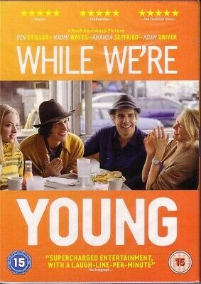 While We're Young * R2 DVD  * BRAND NEW & SEALED * Noah Baumbach * Ben Stiller