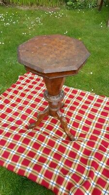 Vintage Sewing Table (Late 1800s/early 1900s)