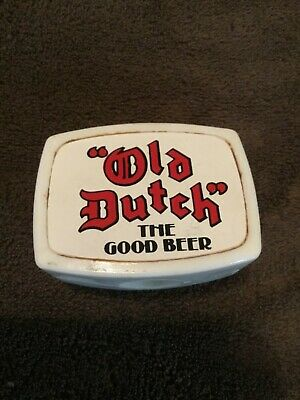 "Vintage Old Dutch Beer Tap Knob, Handle, "" The Good Beer """