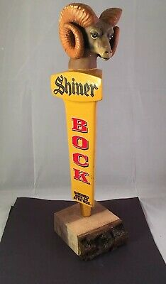 Beer Tap Handle Shiner Bock Ram Beer Tap Handle Figural Ram Beer Tap Handle