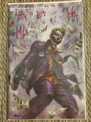 Joker Year Of The Villain #1 Parrillo Yotv Min Trade Variant
