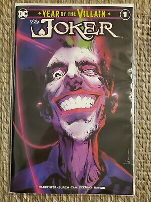 Joker Year Of The Villain Jock Jetpack Comics/Forbidden Planet Exclusive