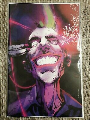 Batman Joker Year Of The Villain Variant Jock Cover Virgin