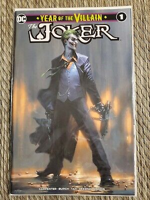 Joker Year Of The Villain #1 Dell'otto Variant Batman Harley Quinn