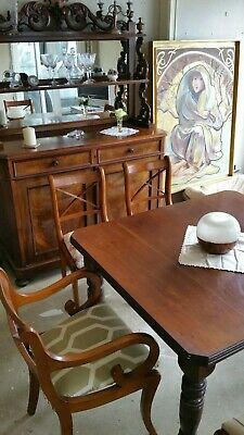 Antique Furniture set, dresser, table and chairs
