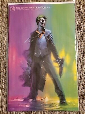 Joker Year Of The Villain #1 Dell Otto Yotv Minimal Variant Dc Comics Batman