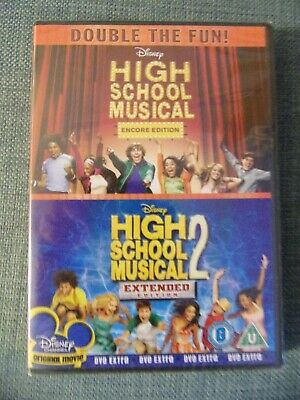 High School Musical Encore & 2 extended edition DVD New & Sealed