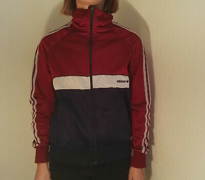Original Oldschool Look Adidas Jacke Trainingsjacke Kleid Mantel 36