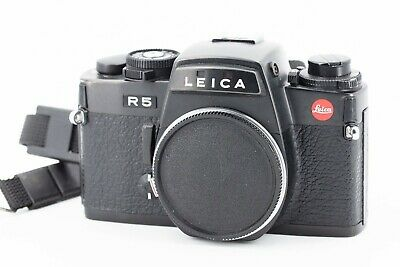 Leica R5 35mm black body boitier nu with  cases