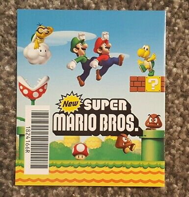 New Super Mario Bros Ds Club Nintendo Points Card Unscratched