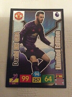 "Adrenalyn XL - Premier League 2019 - 2020: David De Gea ""Limited Edition"" Card"