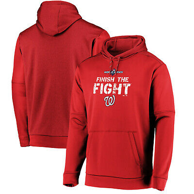 2019 Washington Nationals Majestic World Series Finish The Fight Dugout Hoodie