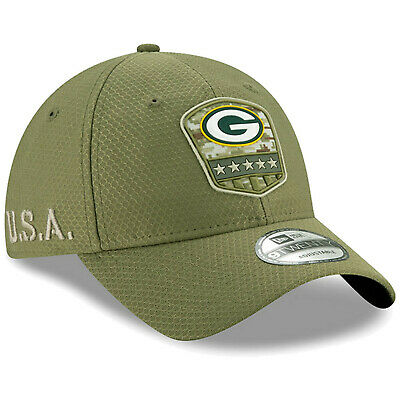 2019 Green Bay Packers New Era 9TWENTY NFL Salute To Service Hat Dad Cap Adjust