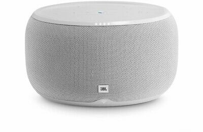JBL LINK 300 Big Wireless Speaker with Hands Free Google Voice Assistant White