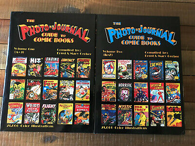 Photo Journal Guide To Comic Books Set Vol 1 & 2 by Ernst & Mary Gerber