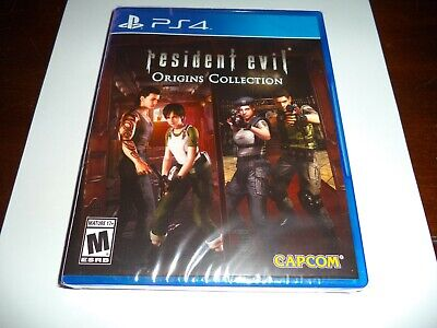 RESIDENT EVIL ORIGINS COLLECTION REmake AND 0 FOR PLAYSTATION 4 PS4 NEW & SEALED