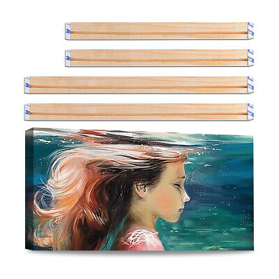 Wooden Canvas Stretcher Bars Frames for Paintings Art Strip Gallery Wrapped DIY