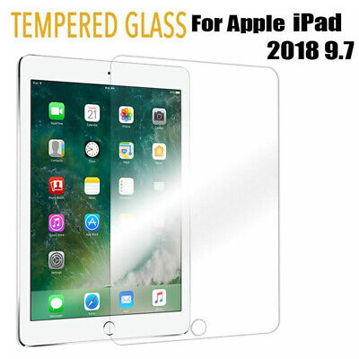 """Tempered Glass Film Screen Protector For Apple iPad Pro 9.7"""" 6th Generation 2018"""