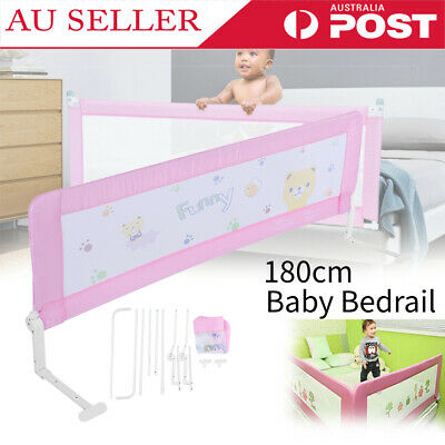 180cm Child Toddler Safety Bed Rail Baby Bedrail Fold Cot Guard Protection AU