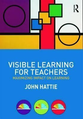 Visible Learning for Teachers:Maximizing Impact on Learning
