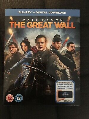 The Great Wall (Blu-ray, 2017) NEW