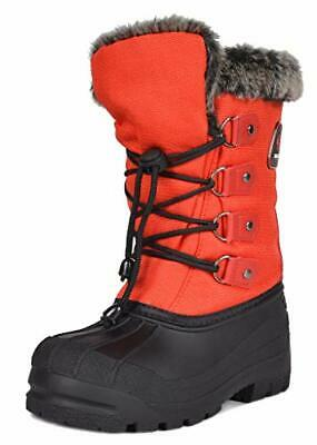 Boys Girls Toddler/Little Kid/Big Kid Insulated Fur Winter Waterproof Snow Boots