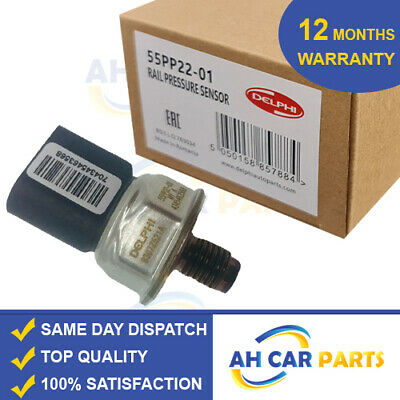 DELPHI FUEL RAIL PRESSURE SENSOR For Mercedes-Benz Sprinter E-Class C-Class Jeep