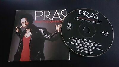 Pras ‎– What'cha Wanna Do CD Single Promo
