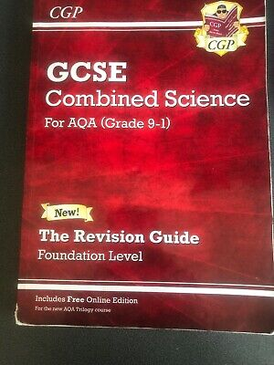 Grade 9-1 GCSE Combined Science: The Revision Guide. Foundation Level AQA