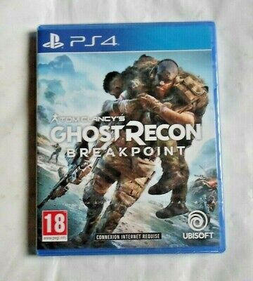 Tom Clancy's ghost recon Breakpoint - Jeu PS4