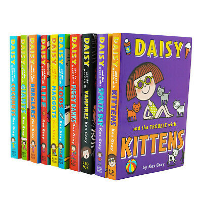 Daisy & The Trouble With Kittens 10 Books Young Adult Collection PB By- Kes Gray
