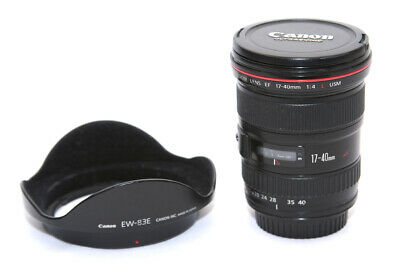 Canon EF 17-40mm F/4.0 L USM Lens - Black **5541**