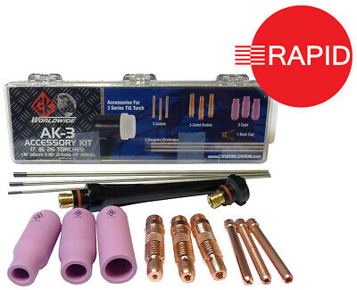 CK AK-3 Tig Torch Accessory Kit - 3 Series