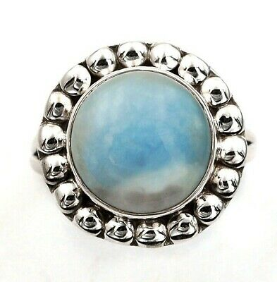 Wonderful Art Owyhee Opal 925 Solid Sterling Silver Ring Jewelry Sz 9, C28-2