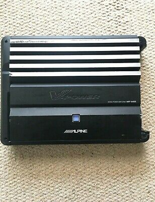 Alpine MRP-M650 Car Amplifier/car Amp