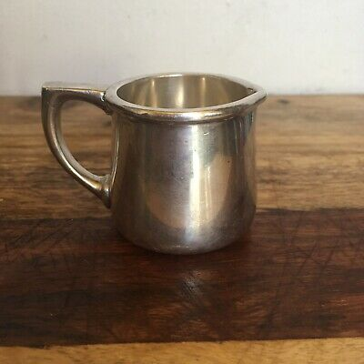 Interesting Tiny Newton Hospital Silver Soldered Pitcher Reed & Barton Hotel