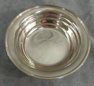"""Antique S. Kirk & Son Inc Sterling Silver Small 8"""" Serving Fruit Bowl 4104"""