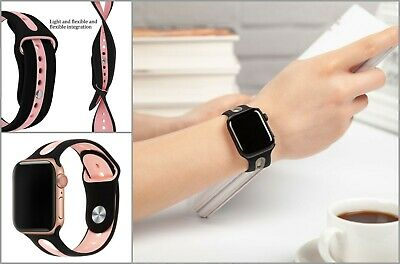 Apple Watch Band 42mm 38mm 44mm 40mm Strap Silicone Iwatch Bands Series 4/3/2/1